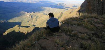 Suedafrika Gruppenreise - Suedafrika Kleingruppenreise - Aussicht auf die Berge - Drakensberge - Suedafrika