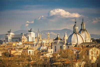 Aussicht auf die Stadt - Rom - Italien