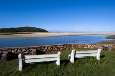 Lesotho Rundreise -Suedafrika Erlebnisreise -Aussicht aufs Meer - Kenton-on-Sea - Suedafrika