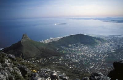 Suedafrika Individualreise - Aussicht vom Tafelberg - Kapstadt - Suedafrika
