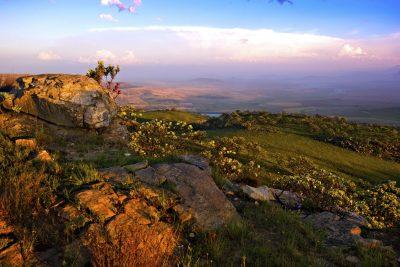 Lesotho Rundreise -Berge - Golden Gate Highlands Nationalpark - Suedafrika