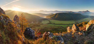 Bergpanorama Slowakei