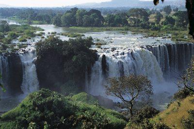 Blue Nile River Falls - Aethiopien