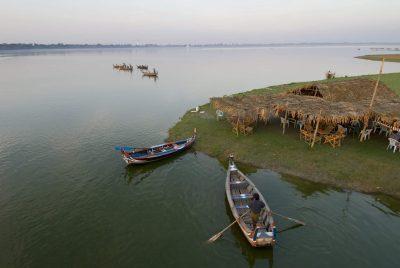 Burma individuell reisen -Boote - Inle See - Myanmar