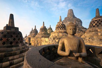Borobudur Temple - Yogyakarta - Java -Indonesien