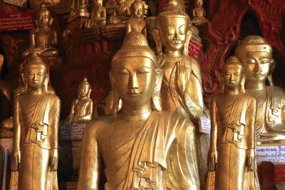Myanmar Gruppenreise -Burma individuell reisen -Myanmar individuelle Rundreise -Buddha Hoehle - Pindaya Cave