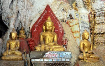 Myanmar Erlebnisreise -Buddha Tempel - Kawgun Höhlen - Myanmar