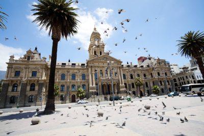 City Hall Gebäude - Kapstadt - Suedafrika