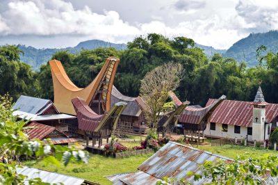 Dorf - Tana Toraja - Sulawesi
