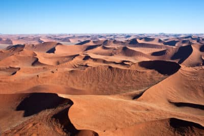 Namibia Abenteuerreise - Namibia Südafrika Rundreise - Namibia Erlebnisreise - Duenenlandschaft - Namib Wueste