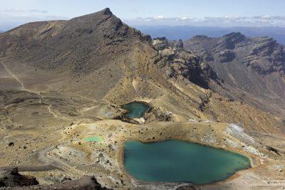 Emerald Lakes - Tongariro Crossing - Neuseeland.