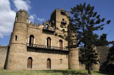 Aethiopien Rundreise -Fasilides Castle - Gonder - Aethiopien