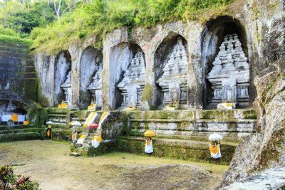 Bali Rundreise -Felsengraeber - Kawi - Bali Indonesien