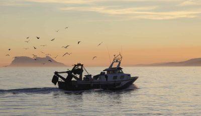 Fischerboot - vor Tarifa - Andalusien