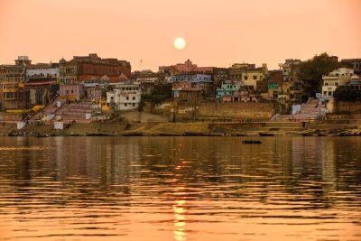 Indien Ganges Kreuzfahrt -Ganges - Indien - Fluss-Reise