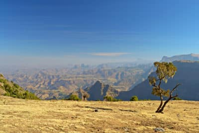 Gebirgslandschaft - Simien Nationalpark - Aethiopien
