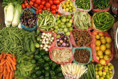 Myanmar Individualreise - Gemuesemarkt - Yangon - Myanmar