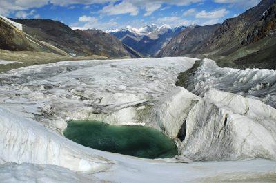 Gletschersee - Kirgistan
