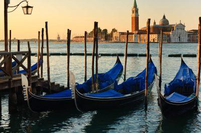 Gondeln - Venedig - Italien