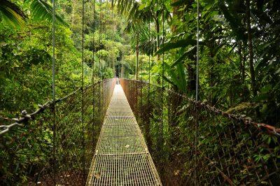 Hängebrücke - Arenal National Park - Costa Rica