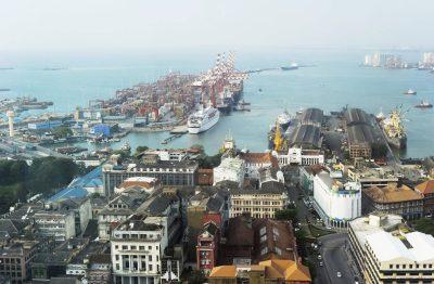 Sri Lanka Rundreise -Hafen - Colombo - Sri Lanka