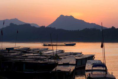 Hafen - Mekong - Laos