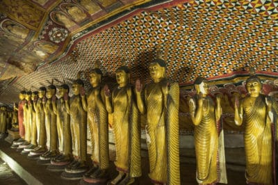 Sri Lanka Rundreise -Hoehlentempel - Dambulla - Sri Lanka
