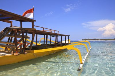 Holzboot - Gili Islands - Indonesien