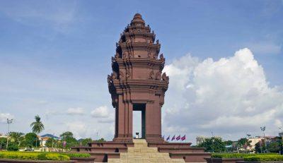 Independance Monument -Phnom Penh - Kambodscha