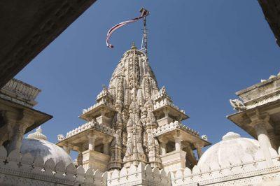 Indien Radreise -Jain Tempel - Rajasthan - Indien
