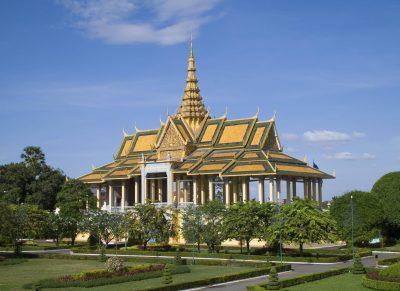 Kambodscha Individualreise - Kambodscha Laos Vietnam Rundreise -Aktivreise Vietnam Kambodscha -Königlicher Palast - Phnom Penh