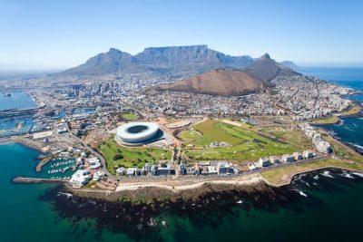 Kapstadt von oben - Kapstadt - Suedafrika