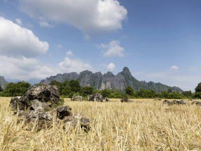 Karstberge - bei Vang Vieng - Laos