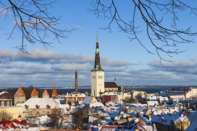 Kirchenturm - Tallin - Estland