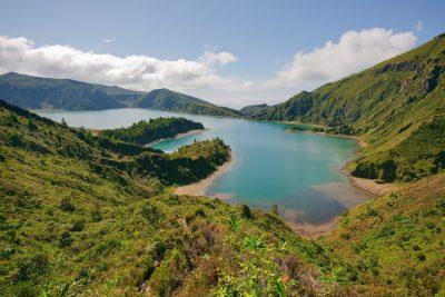 Lago Azul - Sao Miguel - Azoren - Portugal