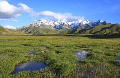 Kirgistan Individualreise -Landschaft - Berge - Kirgistan