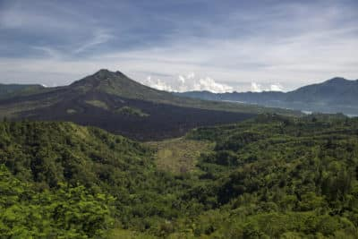 Bali Rundreise -Landschaft - Mount Batur - Bali Indonesien