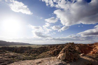 Mongolei Rundreise - Mongolei Studienreise -Rundreise Mongolei - Gruppenreise Mongolei -Landschaft - Wueste Gobi