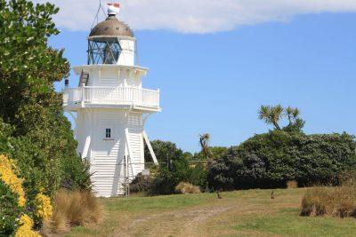 Leuchtturm - Moeraki - Neuseeland