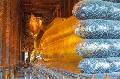 Liegender Buddha - Wat Po - Bangkok - Thailand