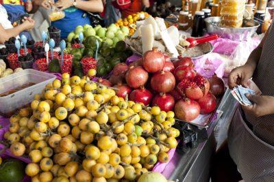 Marktstand - Wochenmarkt Tlacolula - Mexiko