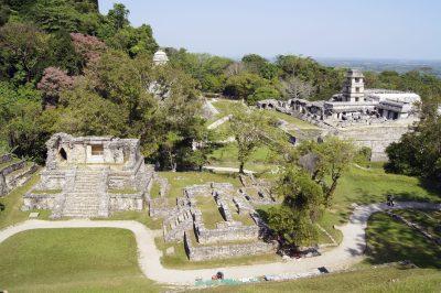Maya Ruinen - Palenque - Mexiko