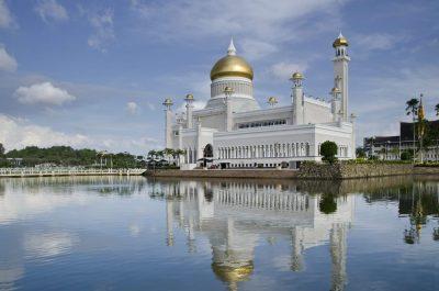 Borneo Rundreise -Moschee - Brunei - Borneo