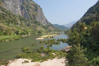 Laos Reise -Nam Ou Fluss - Nong Khiaw - Laos