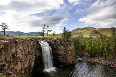 Mongolei Reiturlaub -Mongolei Rundreise -Mongolei Gruppenreise -Orkhon Wasserfall - Orkhan Tal - Mongolei