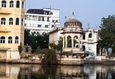 Radreise Indien -Palast am See - Udaipur - Indien