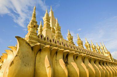 Laos Reise -Laos Gruppenreise -Laos Vietnam Gruppenreise -Pha That Luang - Vientiane - Laos.