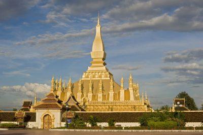 Laos Kambodscha Rundreise -Laos Gruppenreise -Pha That Luang - Vientiane - Laos