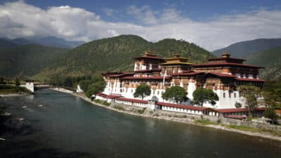 Individualreise Bhutan -Rundreise Bhutan -Punakha Dzong - Bhutan