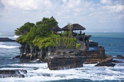 Bali Rundreise - Pura Tannah Lot - Meerestempel - Bali Indonesien
